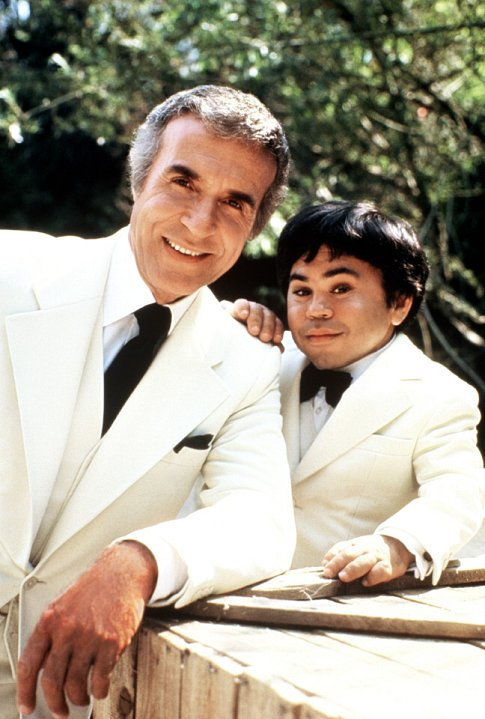 Ricardo as Mr. Roarke and Herve as Tattoo